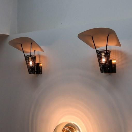 Jacques Biny Wall Lamps - A Pair For Sale - Image 9 of 10