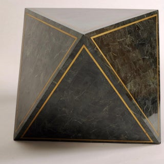 1980s Octahedron Tessellated Marble Side Tables Preview