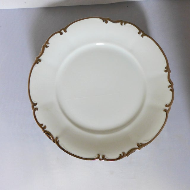 Hutscheneruther Hutschenreuther Slyvia Dinner Plates - Set of 6 For Sale - Image 4 of 10