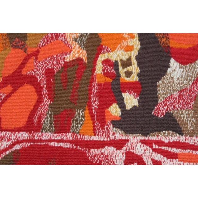 "Mathieu Matégot Mathieu Matégot Tapestry Titled ""19 Composition"" For Sale - Image 4 of 10"