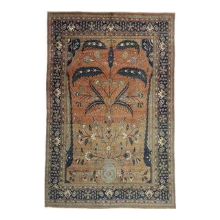 Vintage Persian Mahal Rug, 13'08 X 20'08 For Sale