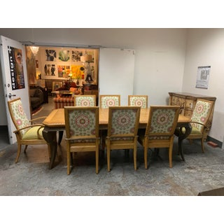 Century Furniture Table + Eight Dining Chairs Preview