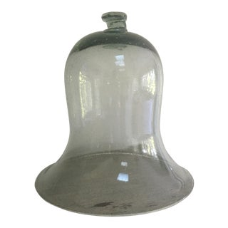 Antique Blown Glass Dome Bell Jar Cloche For Sale