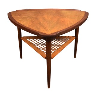 Poul Jensen for Selig Danish Modern Guitar Pick Side Table