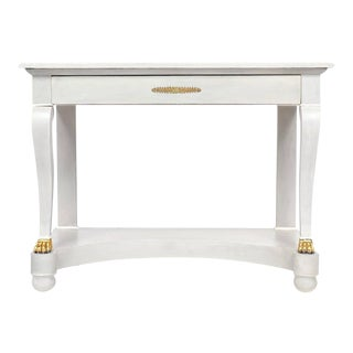 French Empire Period Console Table For Sale