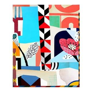 """""""Kyoto"""" Acrylic & Enamel Painting"""