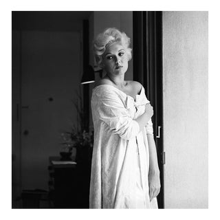Kim Novak at home in Los Angeles 1956