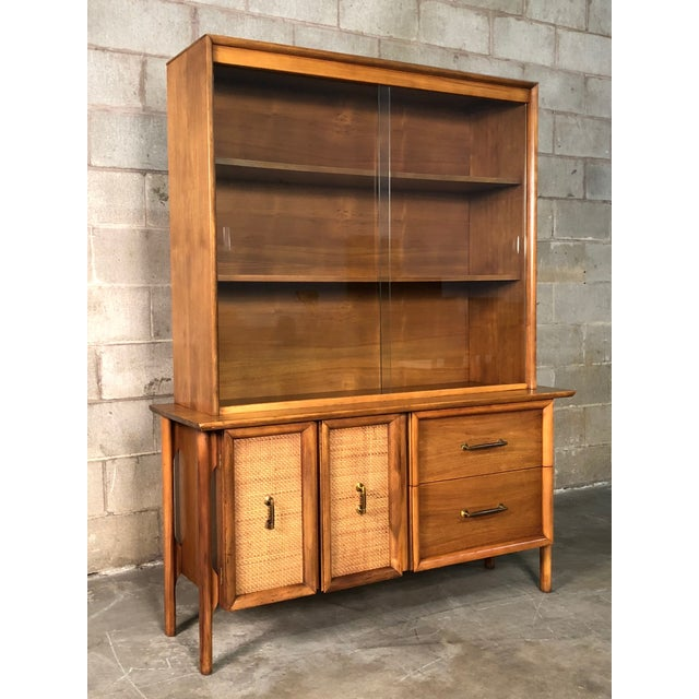 Mid-Century Modern China Cabinet / Bookcase / Display Case - Image 11 of 11