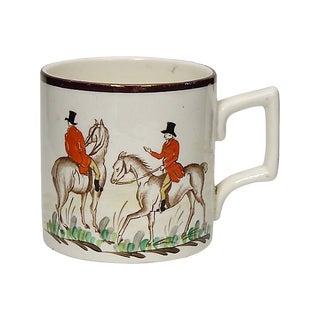 1950s English Hunting Scene Mug For Sale