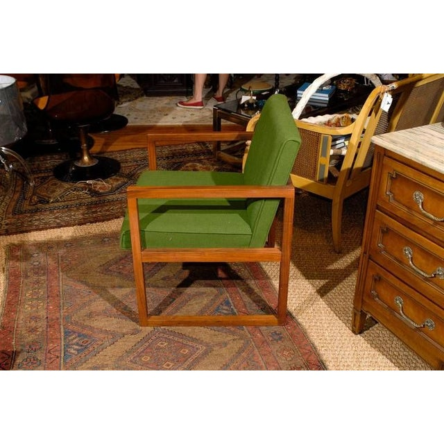 Mid-Century Teak Armchair For Sale - Image 4 of 5