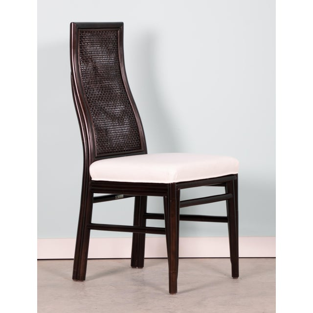 Contemporary David Francis Kenya Dining Side Chairs- Set of 4 For Sale - Image 3 of 7