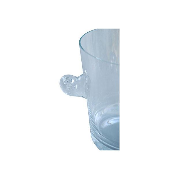 Tiffany Co. Glass Champagne Wine Chiller Bucket - Image 6 of 7