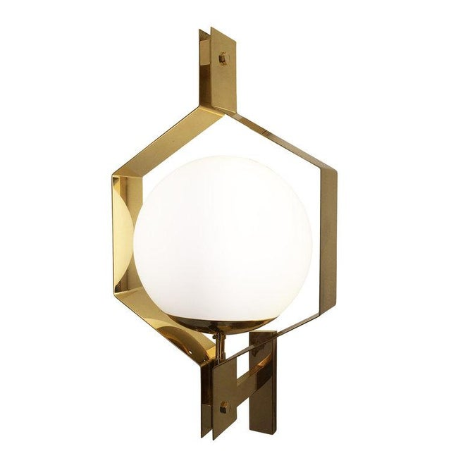 Esagono wall light designed in collaboration with Italian artist Fedele Papagni for our contemporary line, formA by...