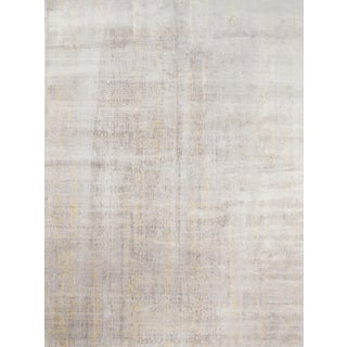 Schumacher Yodan Area Rug in Hand-Knotted Woold Silk, Patterson Flynn Martin For Sale