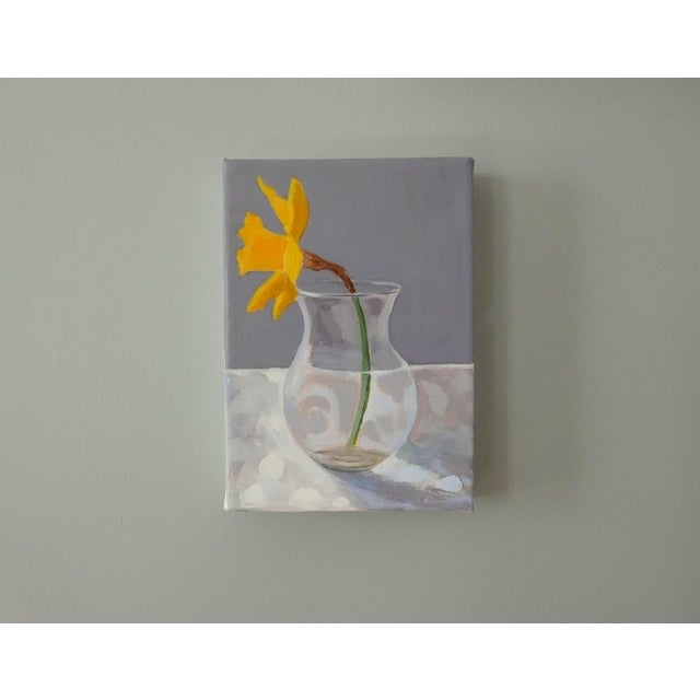 Impressionism Daffodil by Anne Carrozza Remick For Sale - Image 3 of 6