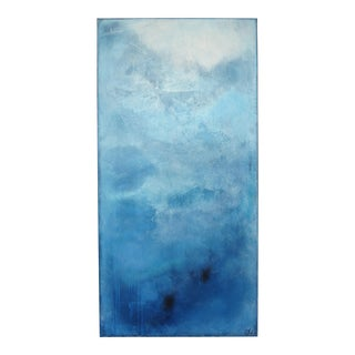 Luminosity, Blue Sky I. Oil on Canvas 2018 by C. Damien Fox For Sale