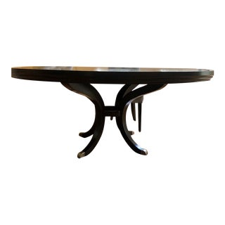 Transitional Plush Home Oxford Dining Table For Sale