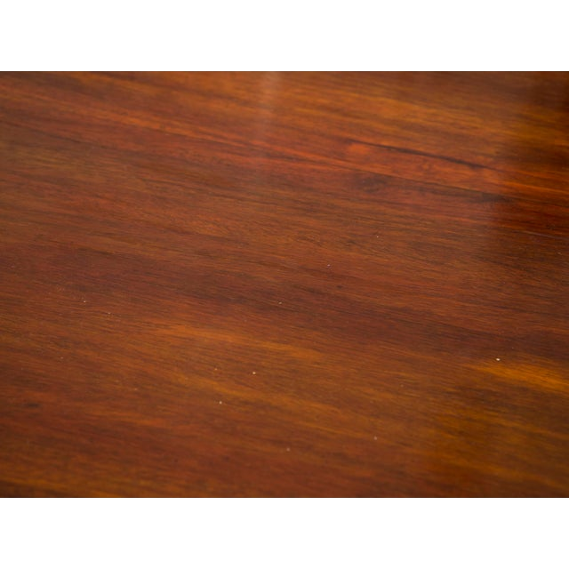 Rare Brazilian Table in Jacaranda From 1980's For Sale - Image 4 of 5
