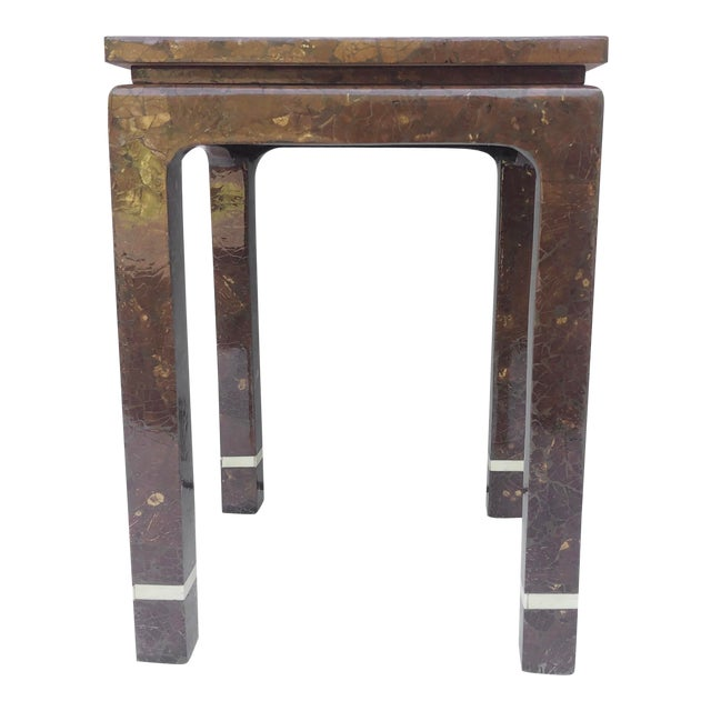 timeless design e6b9f b9ac8 Enrique Garcel Tessellated Bone Side Table
