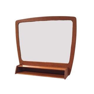 1960s Danish Modern Teak Mirror