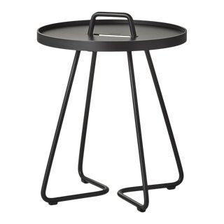Cane-Line On-The-Move Side Table, X-Small, Black For Sale