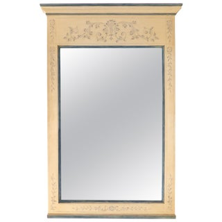John Widdicomb Hand Painted Wood Mirror For Sale