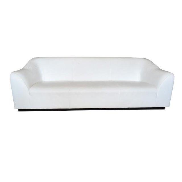 White Late 20th Century Eric Jourdan for Ligne Roset Snowdonia Modernist Sofa For Sale - Image 8 of 8