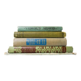 Vintage Hardcover Books - Set of 5