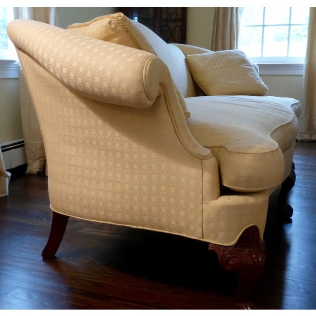 Hickory Chair Chippendale Sofa - Image 4 of 6
