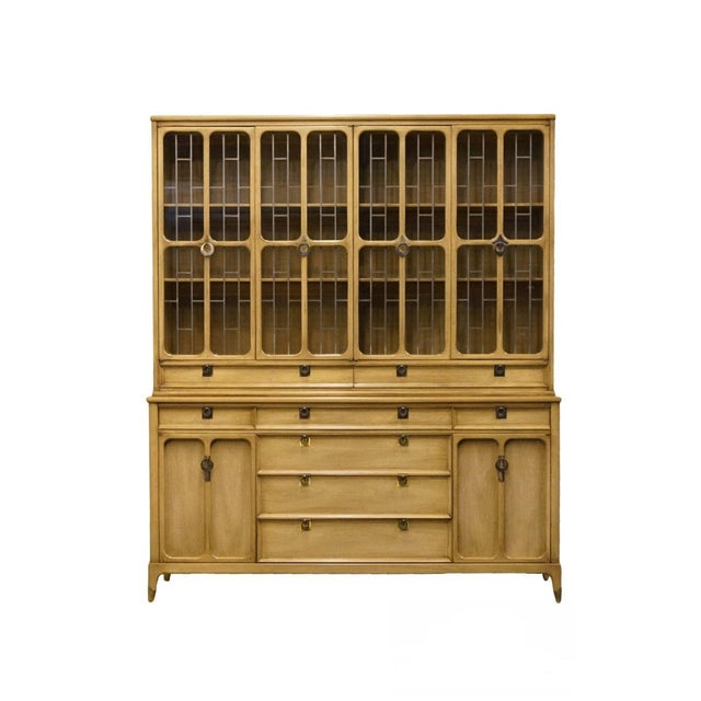 """White of Mebane Contemporary French Style 67"""" China Cabinet For Sale - Image 13 of 13"""