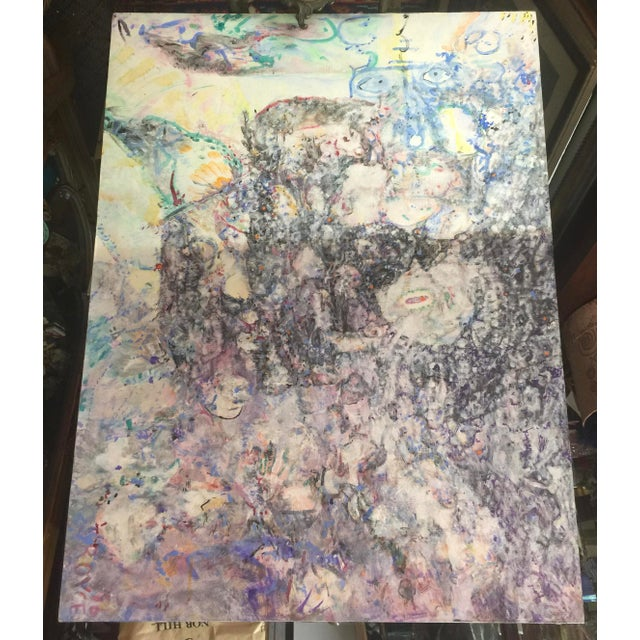 Richard Royce Oil Painting Mindscape 1 2017 For Sale In San Francisco - Image 6 of 6
