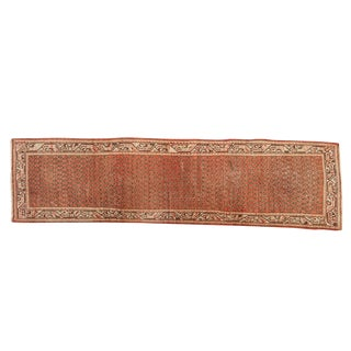 "Vintage Mir Serbend Rug Runner - 2'8"" X 10' For Sale"