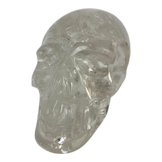 Crystal Skull Sculpture For Sale