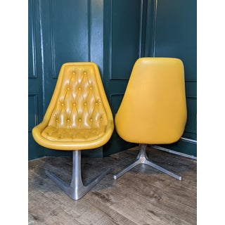 "1960's Mid-Century Chromcraft ""Star Trek"" Vinyl Chairs - a Pair Preview"