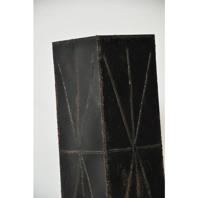 Paul Evans Sculptural Steel Planter Pedestal - Image 8 of 8