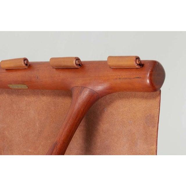 Poul Hundevad Poul Hundevad Folding Stool For Sale - Image 4 of 6