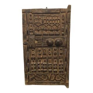 Mid 20th Century Antique Dogon Door
