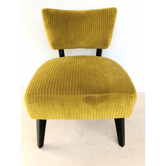 Lee Industries Style 4217 in color Yogi Mustard Wide Whale Corduroy set of two. These chairs have never been used but have...