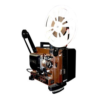Circa Mid 20th Century 16mm Sound on Film Movie Projector for Decorative Display For Sale