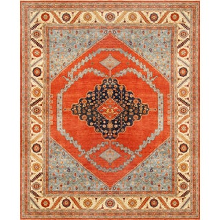 """Pasargad Home Serapi Lamb's Wool Area Rug -12'1"""" X 15'1"""" For Sale"""