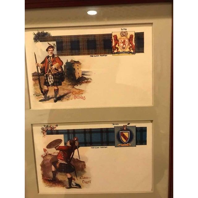 Set of 12 Custom Finely Framed Scottish Postcards, Vintage Catherine Reiss Inc For Sale - Image 10 of 11