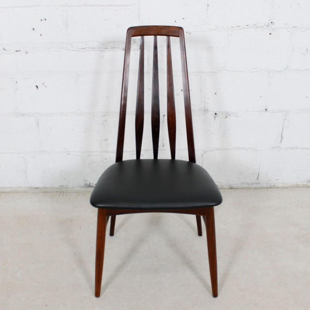 Koefoed Hornslet Rosewood Dining Chairs - Set of 10 - Image 4 of 8