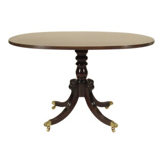 Schmieg & Kotzian N.Y. Regency Style Dining Table
