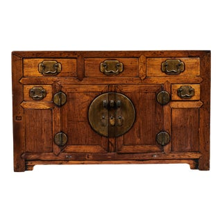 19th C. Chinese Poplar Sideboard For Sale