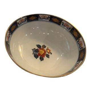 Hand Painted Japanese Gold Imani Bowl For Sale
