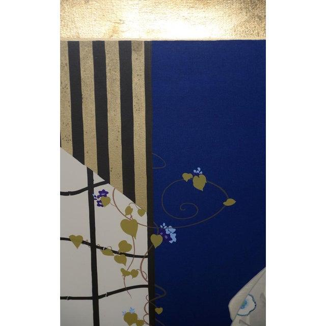 "Morita Haruyo (B. 1945, 森田 春代) ""Natsu N Yo"" Japanese Serigraph C.1980s For Sale In San Francisco - Image 6 of 11"