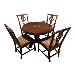 Lexington Round Table & Chairs For Sale
