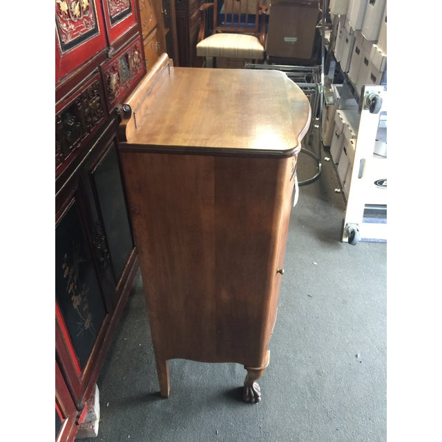 Brown Antique Sheet Music Cabinet For Sale - Image 8 of 10