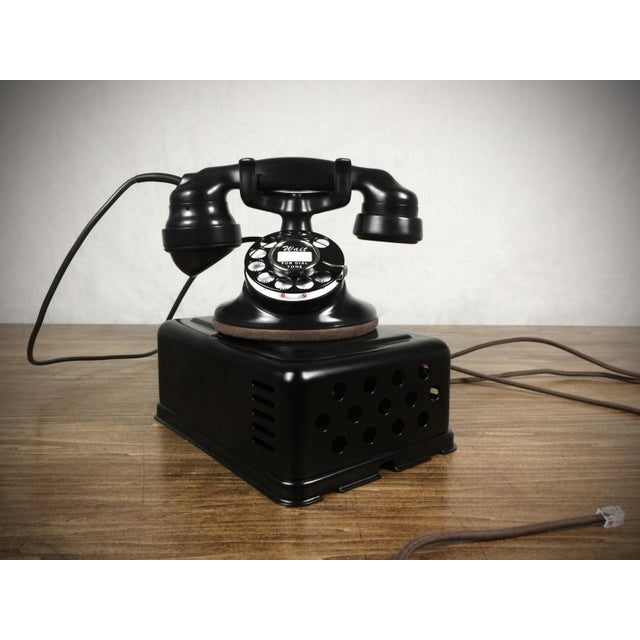 1920s Western Electric Model 102 Refurbished Working Telephone - Image 3 of 4