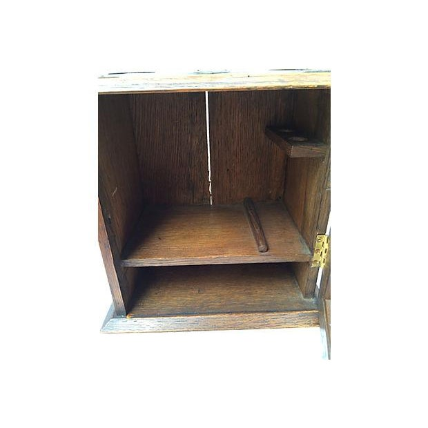Antique English Display Cabinet - Image 4 of 7